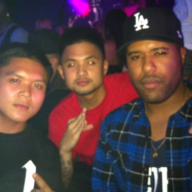 Crooks x OVO Pre VMA Party With the bro Dom Kennedy just choppin' some things with us at the table. Appreciate your hospitality!