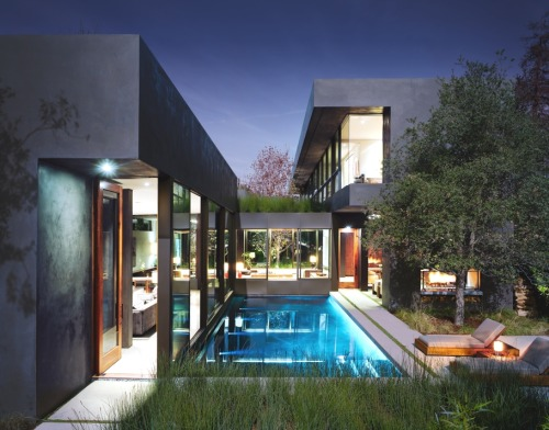 douix:  Luxury Vienna Way Residence, California: Marmol Radziner