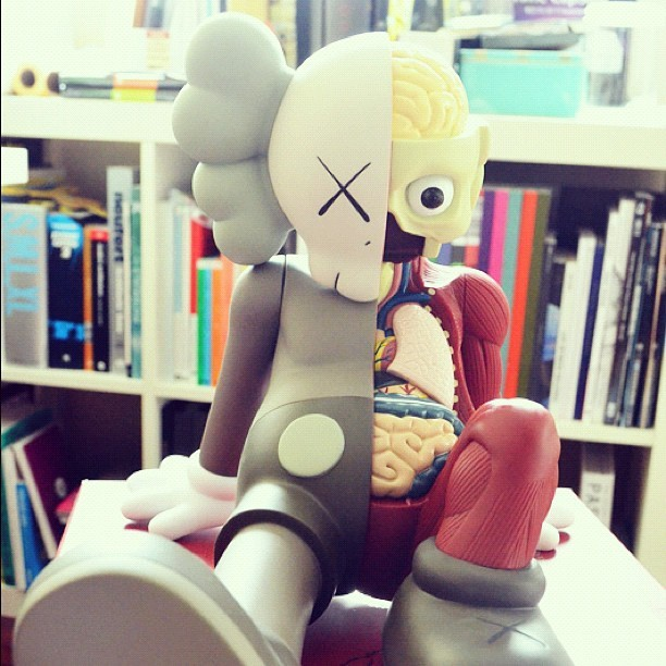 "KAWS Companion ""Resting Place"" (Taken with Instagram)"
