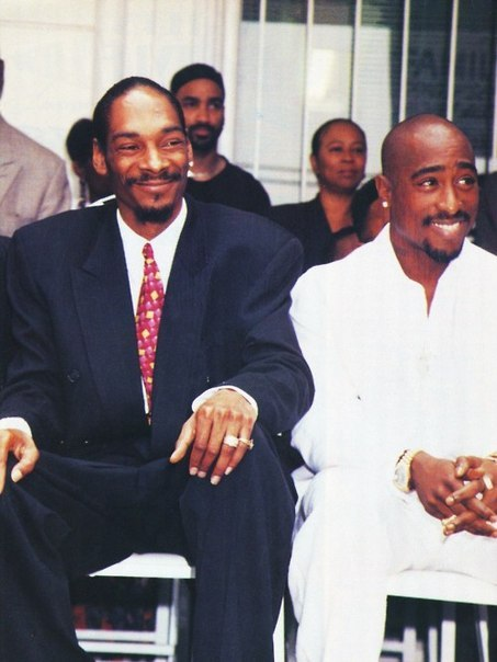 "Snoop Dogg: What people don't know is that Tupac really kept me and my wife together. There came a point in time where I just felt like I didn't need to be in a relationship. It was becoming a headache to me, and all these girls wanted to be with me.  I was like, ""F—- that, I can have any bitch that I want."" We was flying back from Belize with a gang of the homies from Death Row. [The homies] was like, ""Yeah man, f—- that bitch! My baby momma ain't sh—."" They was tellin' me about how their relationships were. Then Pac just was like, ""Man, f—- that! That's your son's mother. You love her.  She's the only one that's gonna love you."" The sh— he was sayin', it was real.  It was sounding crazy comin' from him because he didn't have no relationship like that. For him to tell me that, the sh— really stuck in my heart. When I got home [me and my son's mother] pieced it back together. We worked it out and eventually got married. I gave him a lot of credit for that because I didn't have no direction. I didn't have nobody to talk to and I was young and I didn't really know. His advice stood out more than the negative advice did."