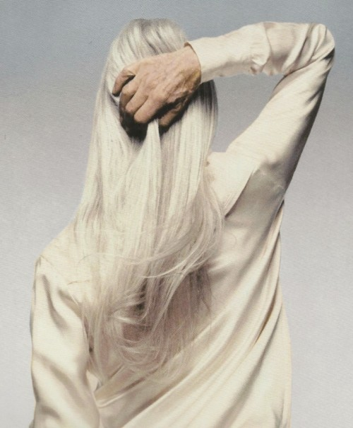 """original wearers"", josephine mann by nick knight for levi strauss, 1996"