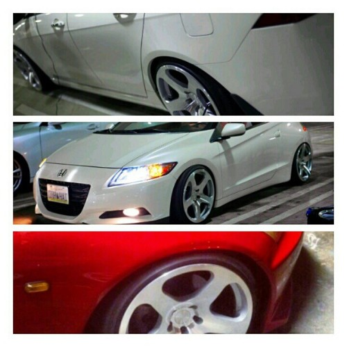 NUE test fitted on TSX, CRZ, S2K. New owner S2K. @jimmylieu @davidtuanvu @ericcaraig #rotiform #nue #wheel #wheels #wheelwhores #royalorigin #honda #acura #tsx #crz #s2k #s2000 #shaviw  (Taken with Instagram)
