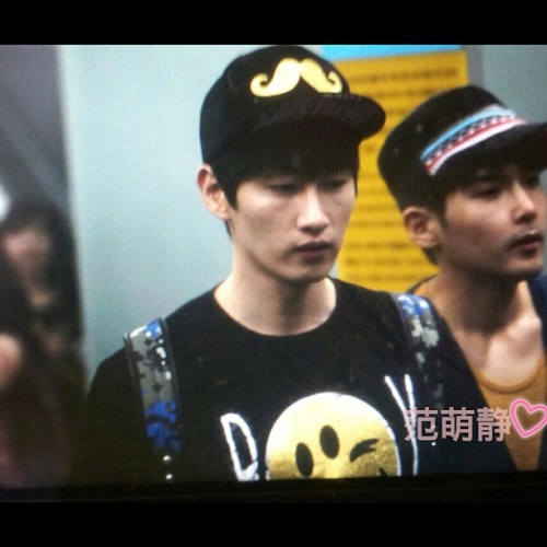 #eunhyuk #ryeowook #superjuniorM #taiwan #120907  (Taken with Instagram at ◥SUJU、WoRLD◤ )