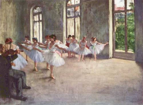 adriat1c:  Edgar Degas - The Rehearsal