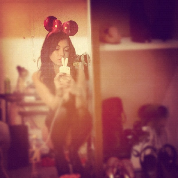 I wish Minnie Ears were an appropriate party outfit accessory