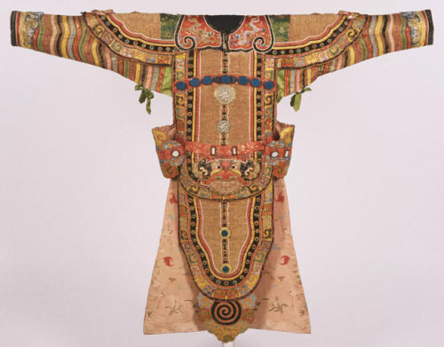 Theatrical Costume for the Role of a General China, late 19th century The Philadelphia Museum of Art