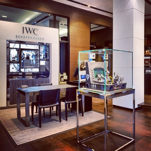 IWC Schaffhausen is opening its own #boutique at Bahnhofstrasse 61 in #Zurich. (Taken with Instagram)