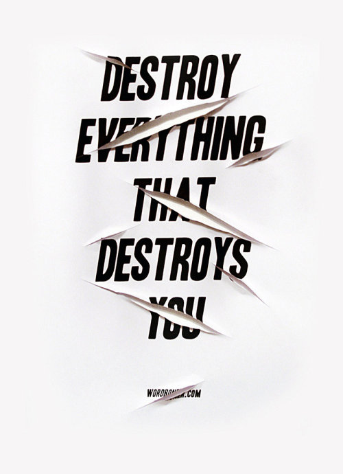Destroy by *WRDBNR
