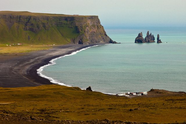 Reynisdrangar by leehobbi on Flickr.