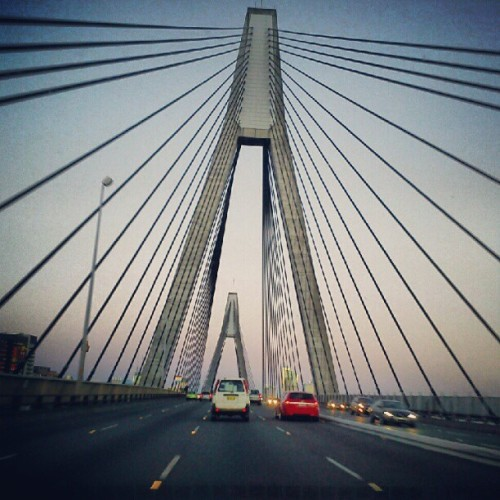 #ANZAC bridge (Taken with Instagram)