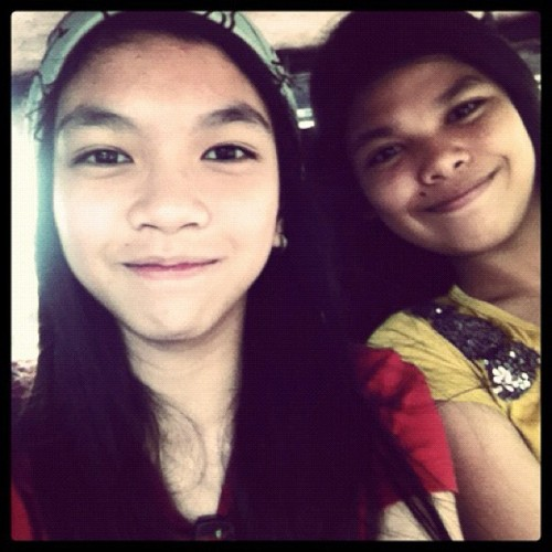 With rayababes. =))  (Taken with Instagram)