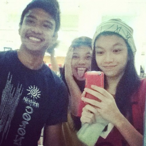 With Hero and Rayang ☺ (Taken with Instagram)