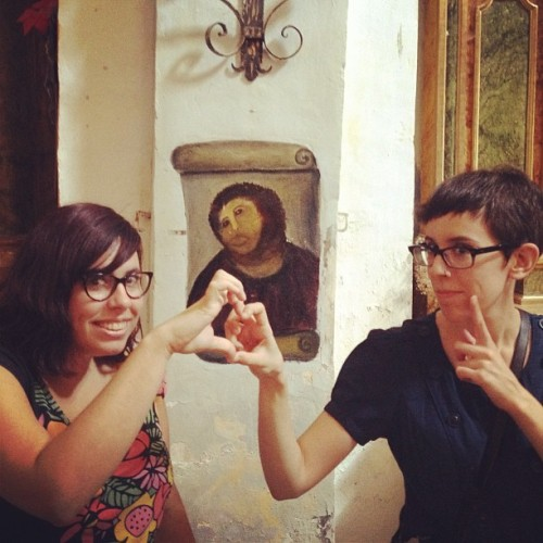 Taken with Instagram at El eccehomo (brutal)