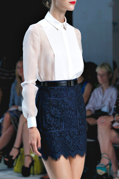 csebastian:  Jason Wu, Spring 2013 Ready-to-Wear Mirte Maas // marleighsea:sansa-strength