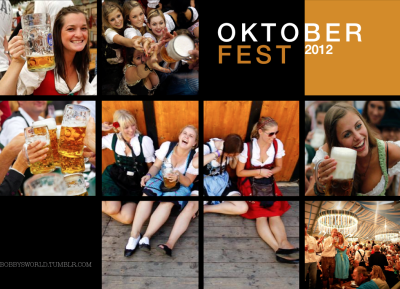 "DAS OKTOBERFEST, dating back to 1810, was the celebration of a Bavarian royal wedding. Today, Oktoberfest attracts millions of visitors every year. The 16-day event begins in September and ends on the first Sunday in October. Oktoberfest begins with a parade led by the Munich mayor and the Münchner Kindl [Munich child]. Then the ceremonial tapping of the first beer keg at noon, by the mayor, who shouts ""O'zapft is!"" [it is tapped]. Let the festivities begin! You might also like…How to Piss off a GermanOktoberfest: Hermann, MissouriBobby Remis' Autumn Activities"