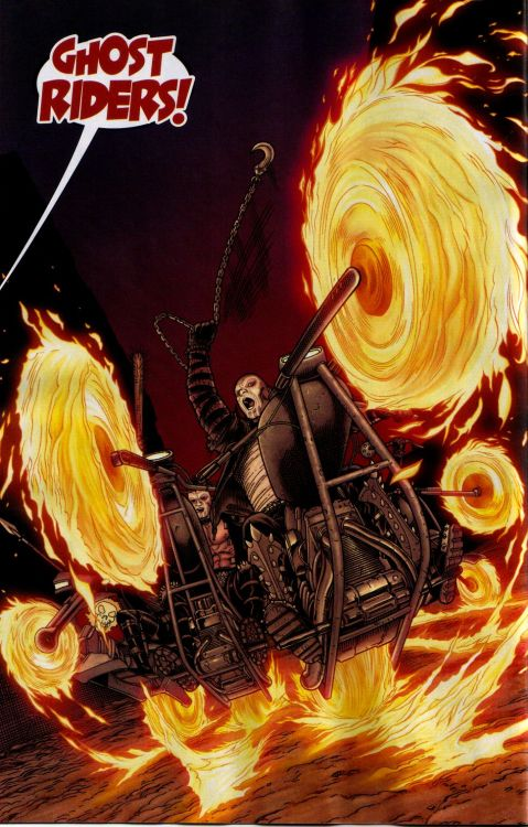 Ghost Riders in Old Man Logan 02