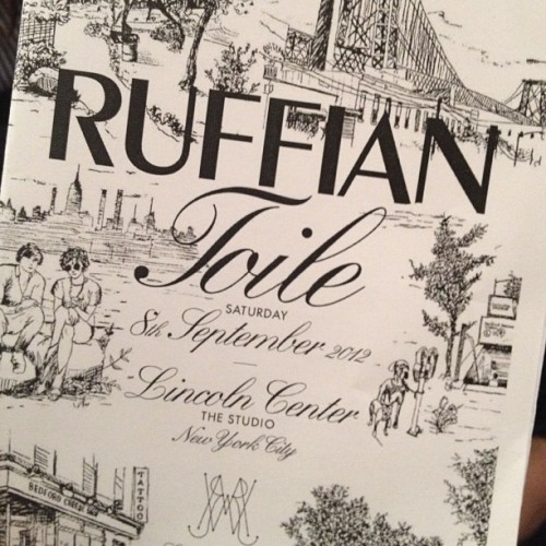 Brooklyn Toile at Ruffian Photographed by Julia Rubin