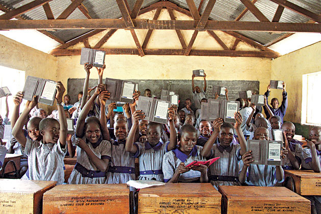 The Worldreader program hopes to allocate 10,000 reading devices to children throughout the developing world by 2013.