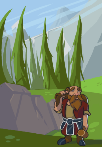 A small dwarf in a big world.