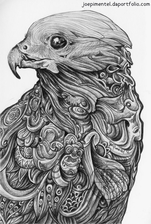 Garuda5 x 8 inches 2012Ballpoint seriesmore to come…