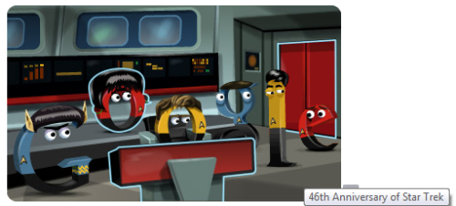 This was a fun interactive doodle! Go to Google's Homepage and see for yourself. Or if they had already taken it down, you can probably check it out here along with the other doodles.. :D Enjoy! :)