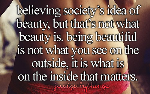 justgirlythings:  No one deserves to be told that they are not beautiful, because everyone is.