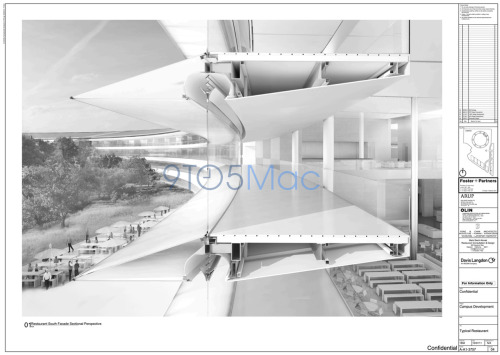 parislemon:  laughingsquid:  New Images of Apple's Campus 2 Building Show Amazing Detail  3 years away.
