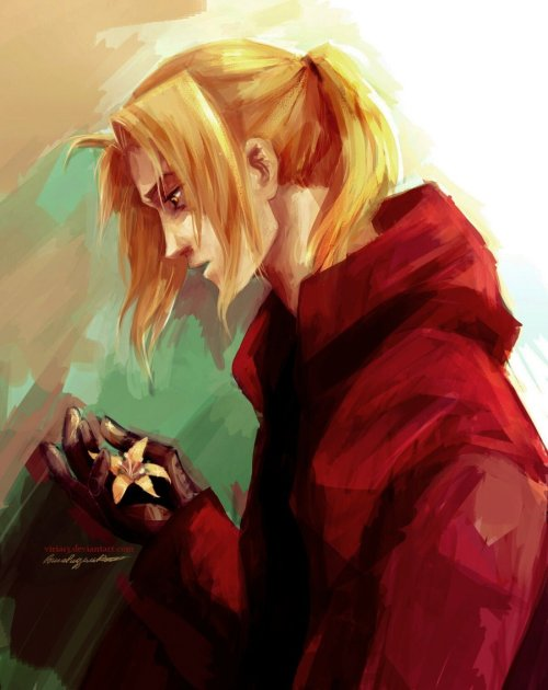 ling-and-greeling:  Edward Elric by *viria13