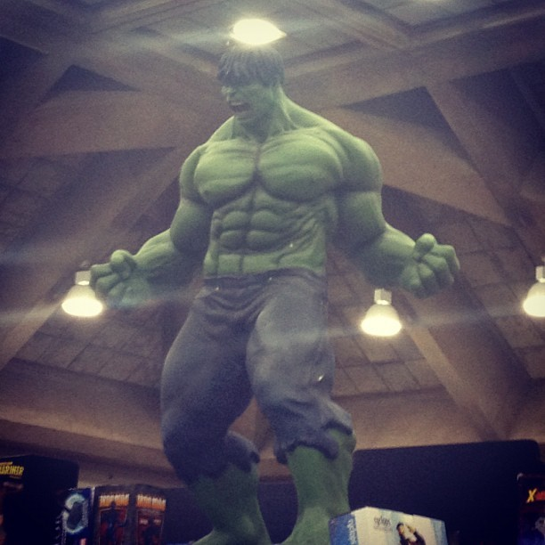 Hulk!  (Taken with Instagram at Baltimore Convention Center)