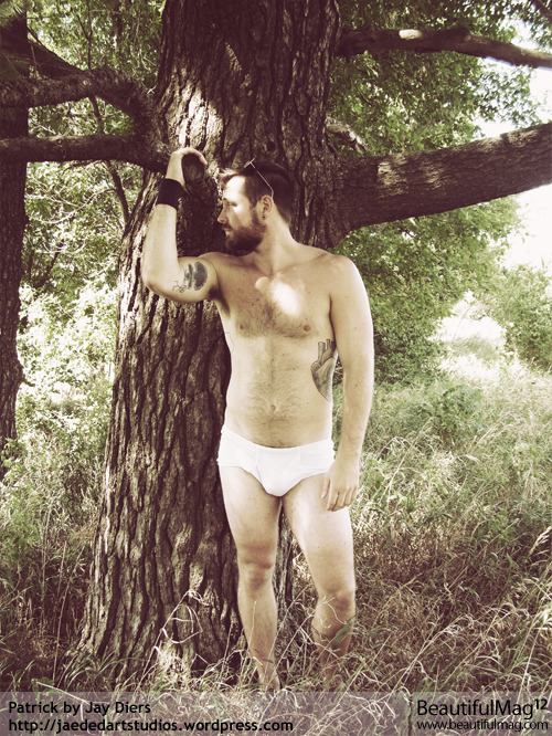 "accidentalbear:  (via Posed ""Farm Boy Stories"" by Jay Diers for BeautifulMag.com: Photos)  I love underwear."