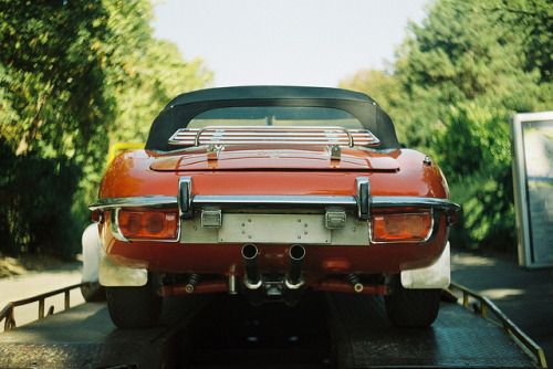 Jaguar E Type on Flickr.Via Flickr: Zenit TTL- Concours d'Elegance Belgrade 2012Like me on Facebook