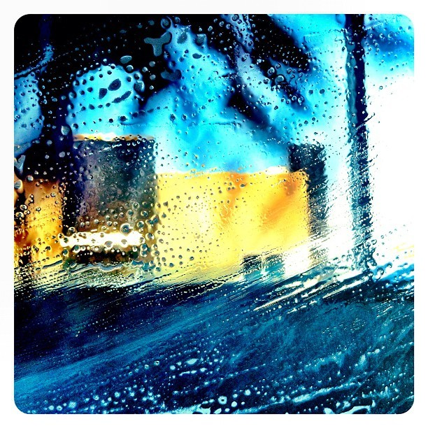#car #wash #abstract (Taken with Instagram)