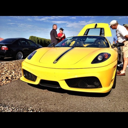 Then there's this gorgeous….. 😍 #Ferrari #F430 #spyder (Taken with Instagram)