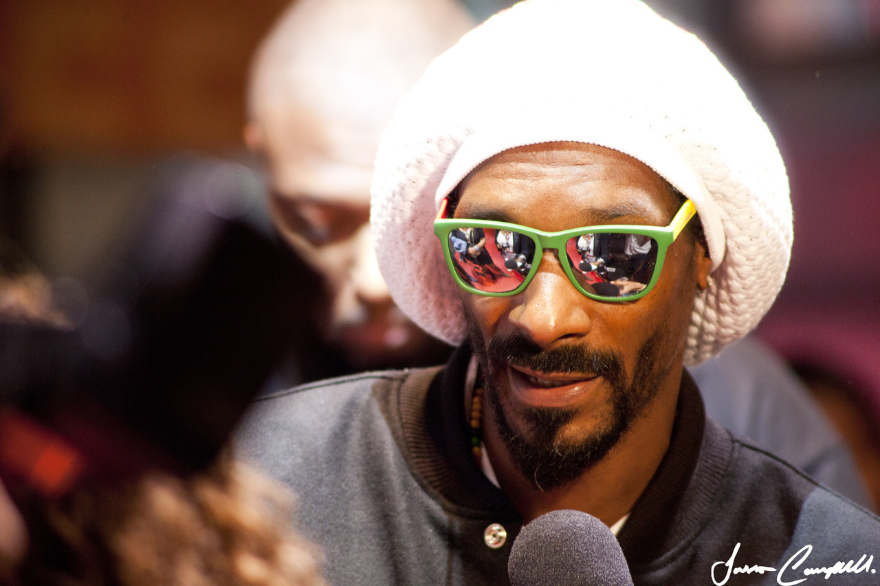 jassacampbell:  Snoop Lion at Tiff for the Reincarnated world premier