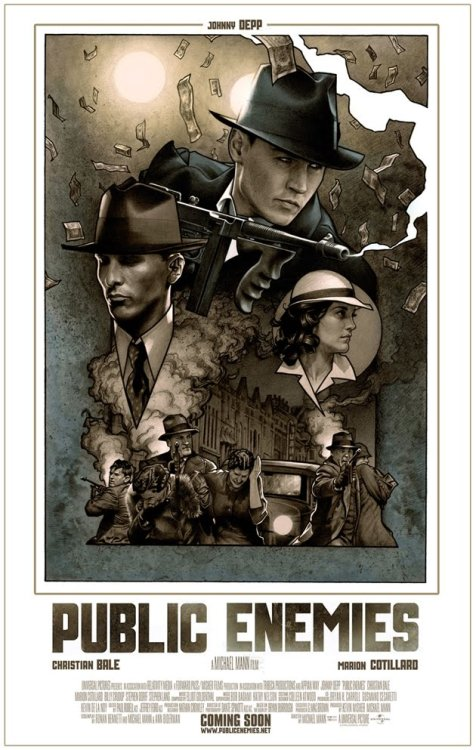 cinemaexperience:  Public Enemies - 3 out of 5 rating