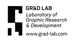 GR&D LAB At the Minneapolis College of Art & Design, the graduate graphic design students recently created GR&D LAB (Graphic Research and Development Laboratory). This studio model places a significant emphasis on graphic design research through trans-disciplinary collaboration and participatory methods. The identity system needed to reflect this emphasis on collaborative research, as well as accommodate the constant flow of students and class structures that would be added every year. As a starting point, the laboratory's time clock and timecard became the impetus for the graphic system that would eventually represent the lab. Through the system each student is assigned their own unique logo for personal use, and a comprehensive class logo is formulated from the unification of all individual logos. The laboratory's logo stays consistent overtime and represents the founding seven members of GR&D Lab. Design: Brian Wiley & Lauren Thorson