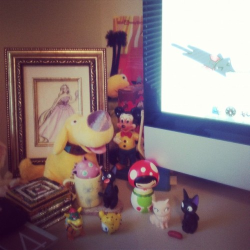 My new desk setup makes me feel like a Disney animator. (Taken with Instagram)