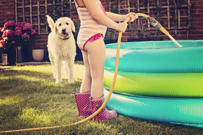 312/365 Paddling pool joy by Sunshine-D on Flickr.