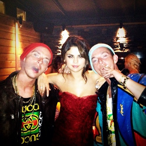 """Partying with #SelenaGomez #springbreakers After Party! #Tiff #Toronto #TurntUp"" - The ATL Twins"