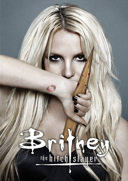 thatguywholikesbritney:  Britney. The Bitch Slayer. (not made by me)