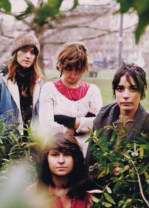 The girls from Warpaint.