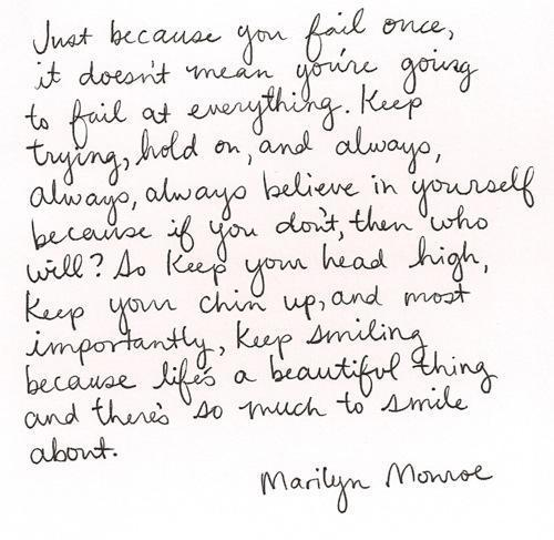 the-inspirational-quotes:  Inspirational Quotes  #Marilyn #Monroe