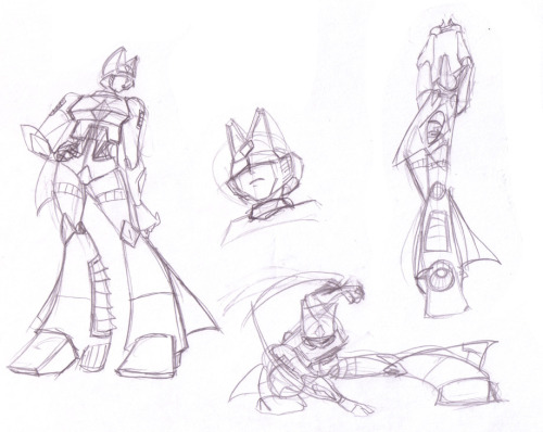 Just more sketches of Blitzangel.