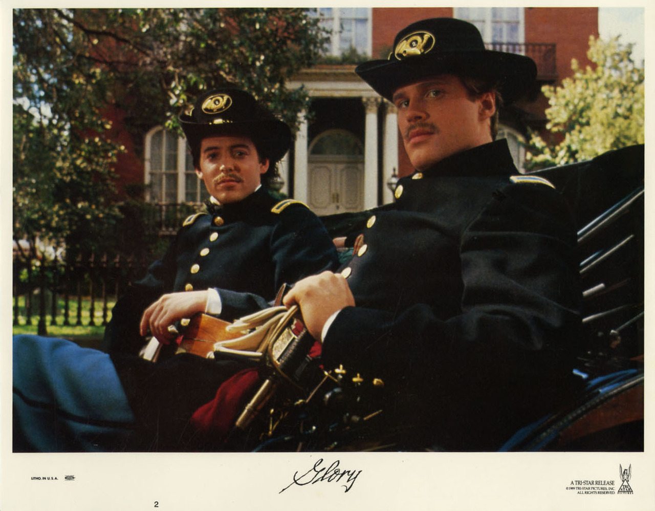 Glory, US lobby card. 1989