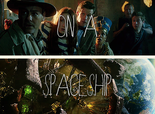 osw1n0swald:  ★ new doctor who 7x02 - dinosaurs on a spaceship
