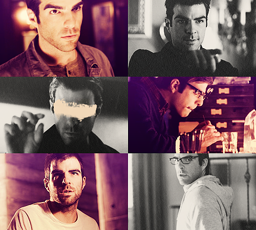07. Sylar - Gabriel Gray - Heroes25 males + 25 females / Top 50 favorite tv characters in same colors