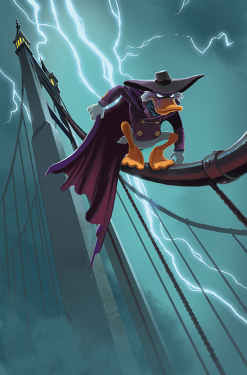 timetravelandrocketpoweredapes:  Darkwing by Jake Myler