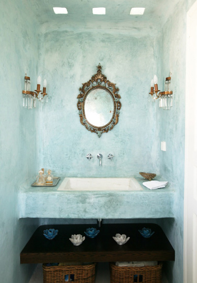 Can it be my rustic&greek bathroom please. Located on the island of Tinos (Greece), the house is designed by Greek Zege architects. (via a lovely holiday home on tinos, greece | the style files)