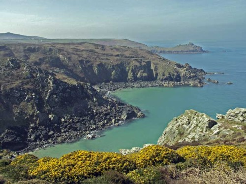 The Mermaid of Zennor (Zennor, Cornwall, UK)  The people of Zennor had long wondered at the beauty of a richly-dressed lady who attended divine service at the church. None knew whence she came, but when she fell in love with Matthew Trewella and lured him away, tongues began to wag. Neither was seen again for many years, until one Sunday morning the sailors on a ship anchored near Pendower Cove were surprised to see a mermaid rising from the water, and recognised her as none other than the mysterious visitor to Zennor Church. She asked the captain to raise his anchor, as it was barring the entrance to her house. Her likeness can be seen to this day carved on a pew-end in Zennor Church.