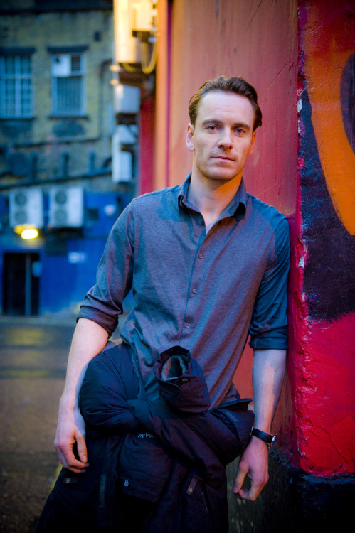 Michael Fassbender by Francesco Guidicini